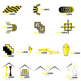 Logos et éléments de vecteur Images libres de droits