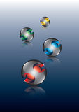 Logos Royalty Free Stock Photo