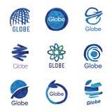Logos, globe, global Royalty Free Stock Image
