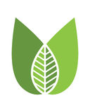 Logos of green leaf ecology nature element vector icon Stock Image