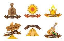 Logos Mexica Fotografia Stock Libera da Diritti