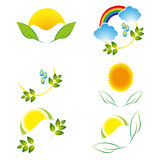 Logos of nature. Stock Photography