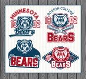 Logos per lo sport Immagine Stock