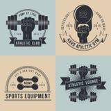 Logos pour le club sportif de sport Photographie stock libre de droits
