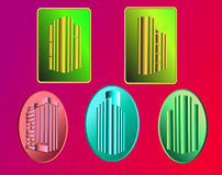 Logos property Royalty Free Stock Photos