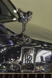 Logos of  Rolls Royce Phantom Extended Wheelbase Royalty Free Stock Image