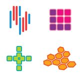 Logos set Stock Images