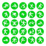 Logos of sports Royalty Free Stock Photography