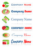 Logos to go with your company  Stock Image
