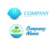 Logos for Travel and Vacation Stock Photography