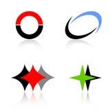 Logosamling Arkivfoton