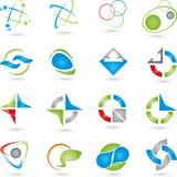 Logosamling royaltyfri illustrationer