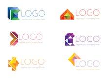 Logoschablone Lizenzfreies Stockbild