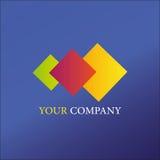 Logoschablone für Geschäft Stockfotos