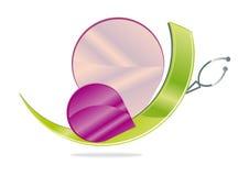 Logoschmetterling Stockfoto