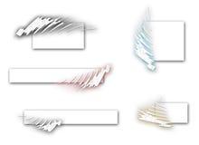 Logoset multi de couleur Image libre de droits