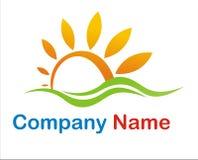 logosun Arkivbild