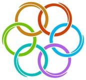 logoswirl Arkivbild