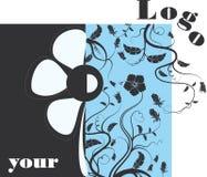 Logotipo à moda Imagem de Stock Royalty Free