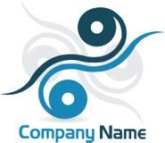 Logotipo à moda Imagens de Stock