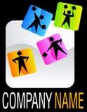 Logotipo à moda Fotografia de Stock Royalty Free