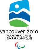 Logotipo 2010 de Vancôver Paralympic Fotos de Stock