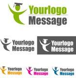 Logotipo ilustração stock