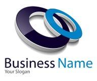 Logotipo 3D Imagem de Stock Royalty Free