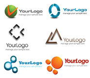 logotipo 3D Foto de Stock Royalty Free