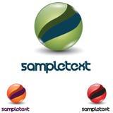 logotipo 3D Fotos de Stock