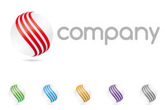 Logotipo Abstract Sphere Symbol Company Libre Illustration