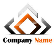 Logotipo abstracto Foto de archivo libre de regalías