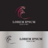 Logotipo abstracto de la resaca Stock de ilustración