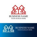 Logotipo abstracto del hogar del edificio de la arquitectura Imagen de archivo libre de regalías