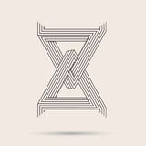 Logotipo abstrato Imagens de Stock Royalty Free