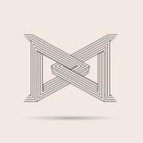 Logotipo abstrato Imagem de Stock