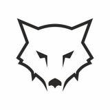Logotipo abstrato do lobo Imagem de Stock Royalty Free