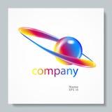 Logotipo abstrato do vetor Molde do projeto do elemento Símbolo creativo Foto de Stock Royalty Free