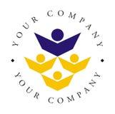 Logotipo - academia/escola Imagens de Stock