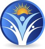 Logotipo activo brillante de los pares libre illustration