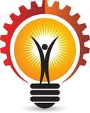 Logotipo activo de la lámpara libre illustration