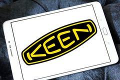 Logotipo afilado de la compañía del zapato Fotos de archivo libres de regalías