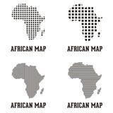 Logotipo africano del mapa
