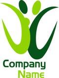 Logotipo alegre Imagem de Stock