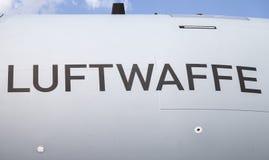 Logotipo alemão da força aérea de Luftwaffe Fotos de Stock Royalty Free