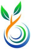 Logotipo ambiental Fotografia de Stock Royalty Free