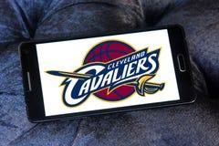 Logotipo americano del equipo de baloncesto de Cleveland Cavaliers Foto de archivo libre de regalías