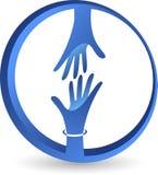 Logotipo amistoso ilustración del vector