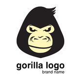 Logotipo animal logotipo do gorila Macaco Foto de Stock Royalty Free