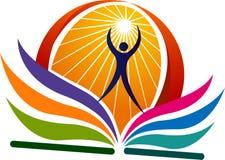 Logotipo brilhante da instrução ilustração do vetor